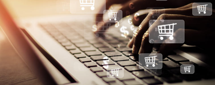 Quick orders with the Online Procurement e-Catalog shopping cart, modular software to manage e-Procurement