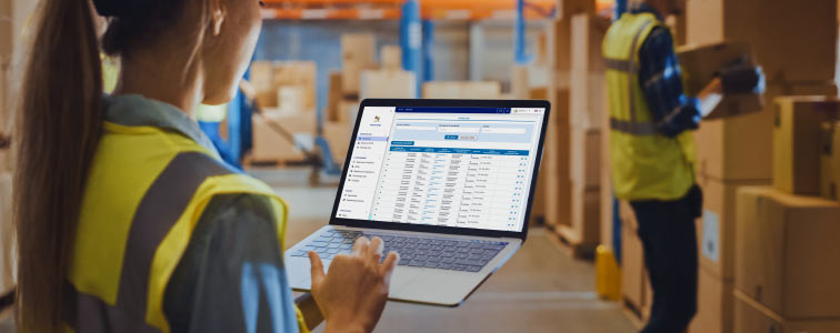 Purchasing officer manages orders through the e-Catalog products, a catalog that is always updated thanks to Online Procurement software