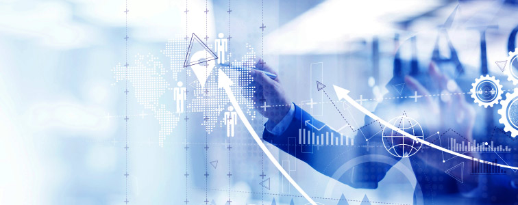 Graphs of the e-Procurement software show the qualification level of the suppliers and improve the Supplier Collaboration